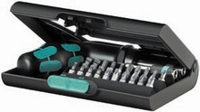 Wera KK 90 22 Pc Kraftform Kompakt Screwdriver Set (Sl/Hx/Ph/Pz/Tx)