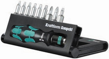 Wera KK 11 10 Pc Kraftform Kompakt Screwdriver Set (Sl/Ph/Tx)