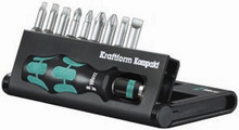 Wera KK 10 10 Pc Kraftform Kompakt Screwdriver Set (Sl/Ph/Pz/Tx)