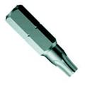 Wera 867/1 Z BO Torx Bit, Tamper Resistant - Wera 05066525001