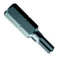 Wera 840/1 Z BO Hex Tamperproof Bit - Wera 05056345001