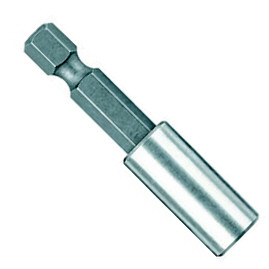 Silver Wera 05160976001 1//4 x 50 mm 899//4//1 S Universal Bit Holder with Magnet