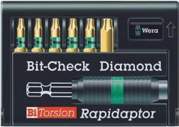 Wera 10 x Diamant Torx Bit 867//1 TORX® BDC TX 30 x 25 mm