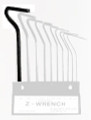 Z-Wrench Hex Key - Clamp Manufacturing Company 101-9