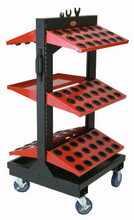 Huot ToolScoot Tree CNC Toolholder Cart - Huot 55985