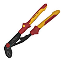 Insulated Push Button Water Pump Pliers 254mm, Wiha 32956