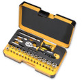 36pc R-GO Bit and Socket Set w/ Ratchet, Felo 62053