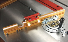 MITER1000/HD, the most refined model yet in the Miter 1000 series. The HD stands for High Definition because the protractor plate has an exclusive AngleLOCK Indexing System with a 180 degree can't-miss angle stop in 1 degree increments.