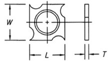 Reversible Insert Spur / Grooving Knife - Carbide Processors IG-1818195
