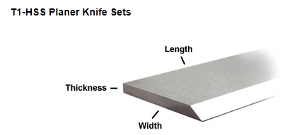 Rockwell 6 x 5//8 x 1//8 HSS PLANER JOINTER KNIVES Deltas Craftsman