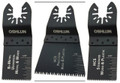 Oscillating Tool Blade Combo 3pk (Uni-Fit), Oshlun - Oshlun MMC-9903