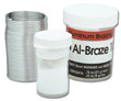 Al-Braze 1070 Kit has everything you need for small aluminum to aluminum brazing jobs. This kit includes 1070 wire and powdered flux to create corrosion-resistant joints.