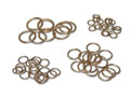 Harris® Brazing Rings are a convenient way to braze joints for copper pipe and tubing applications. The Brazing Rings are available in a variety of sizes to create tight and leak-proof joints. Made up of 15% silver, this product is a very popular brazing filler metal for HVAC and refrigeration connections.