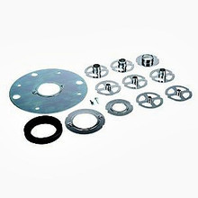 Triton 12pc Router Accessory Template Guide Kit for TRA001 and MOF001 Triton routers.