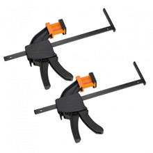 Triton (Pair) Work Clamps for Track Saw TTS1400 provides extra stability for cutting jobs.