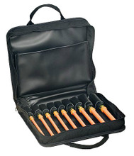 """9-Piece Insulated Cushion-Grip Hollow Shaft Nut Driver Kit- 6"""", Klein Tools 33524"""