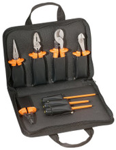 8-Piece 1000-Volt Basic Insulated Tool Kit, Klein Tools 244-33526
