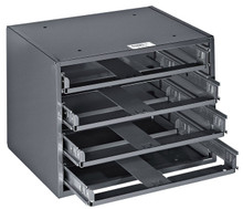 Mid-Size 4-Box Slide Rack, Klein Tools 54474