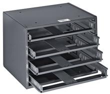 Mid-Size 6-Box Slide Rack, Klein Tools 54476