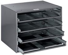 Extra-Large 4-Box Slide Rack, Klein Tools 54477