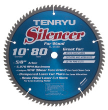 Tenryu SL-25580C - Silencer Series Saw Blade