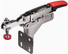 Auto-Adjust Horizontal Toggle Clamp with Angled Base