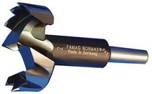 """Forstner Bit, 40mm Diameter, 3/8"""" Shank, 3-1/2"""" Overall Length"""