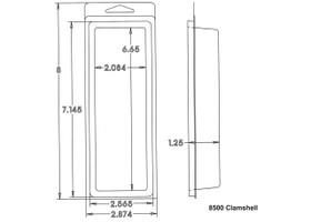 8500 Clamshell Sample