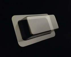 "1.50"" x 3.00"" x 1.00"" Depth Rectangle Blister SAMPLE"