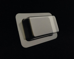 "1.50"" x 2.50"" x .75"" Depth Rectangle Blister SAMPLE"