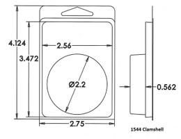 1544 Clamshell Sample