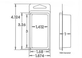 7000 Series Clamshell Sample