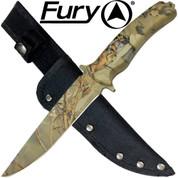 Woodland Camouflage Hunting knife