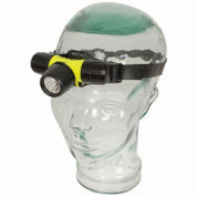 30m Fluorescent Yellow Diving Head Torch