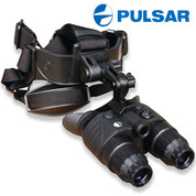 Night Vision 1x20 Edge GS Binoculars with Head Mount