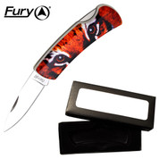 Animal Collector Knife - Tiger Eyes