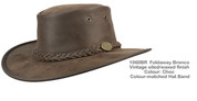 Bronco Foldaway Hat - Brown