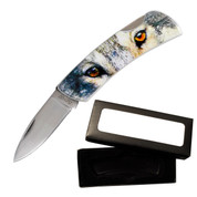 Animal Collector Knife - Wolf Eyes