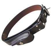 Australian Stockman's Leather Belt w Pouch