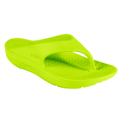 Telic Super Soft Support Thongs - Key Lime