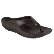 Telic Super Soft Support Thongs - Midnight Black