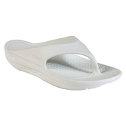 Telic Super Soft Support Thongs - Snow White