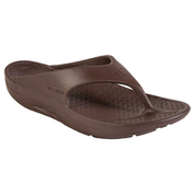 Telic Super Soft Support Thongs - Espresso Brown