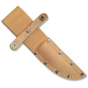 Natural Full Grain Leather Knife Sheath