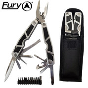 Rubber Gripped Multitool - 13 Implements