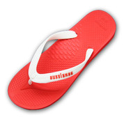 Aussie Soles Aussianas Classics Thongs - Red and White