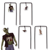 Marksman Zombie Swinging Shooting Targets