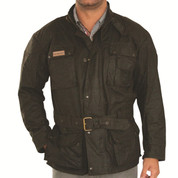 Didgeridoonas Mens Oilskin Jacket