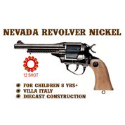 Nevada Nickel Revolver Cap Gun
