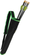 Compact Quiver in Black/Green